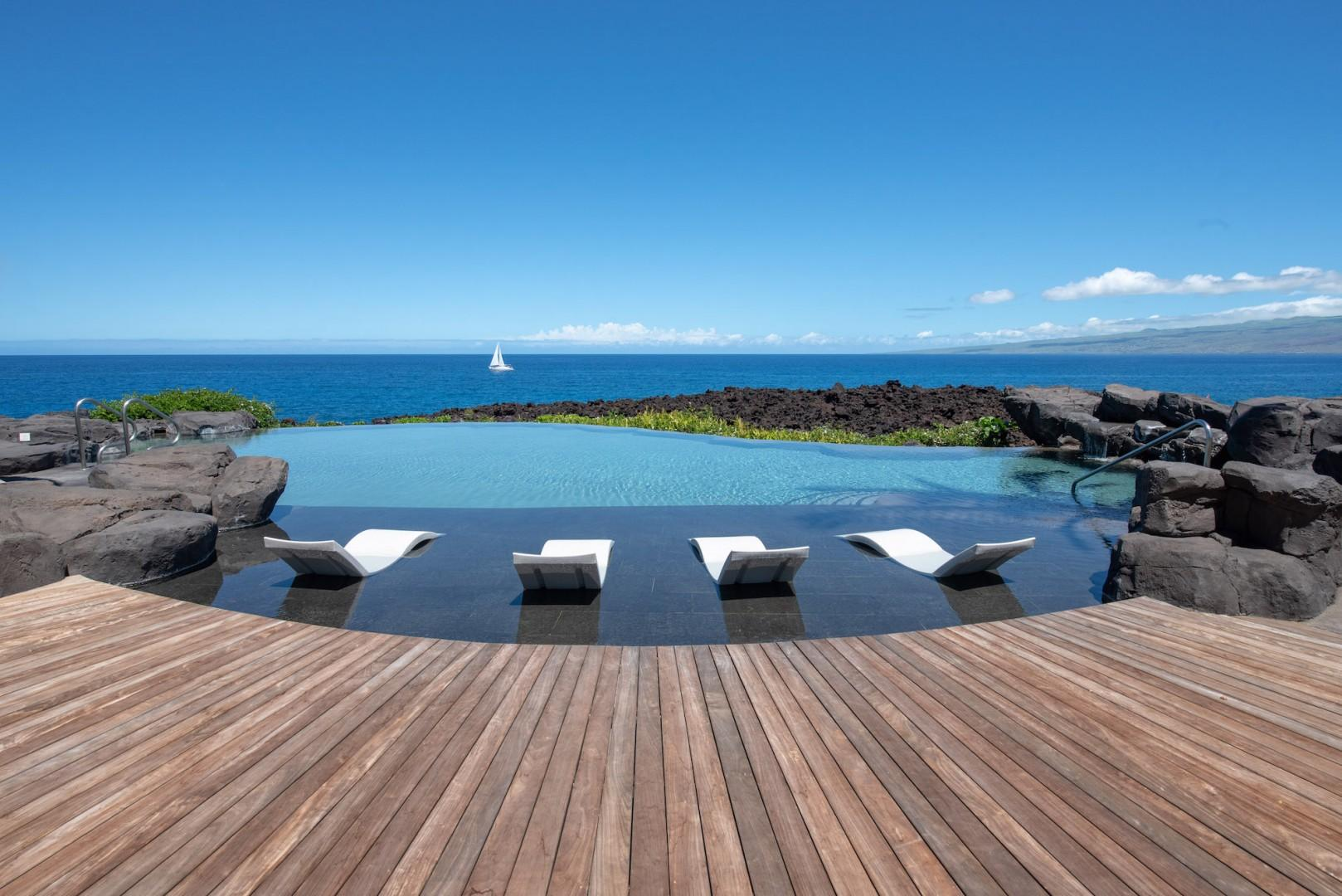 The Grotto Amenity Center w/ Pools, Jacuzzis and Endless Breathtaking Ocean Views!