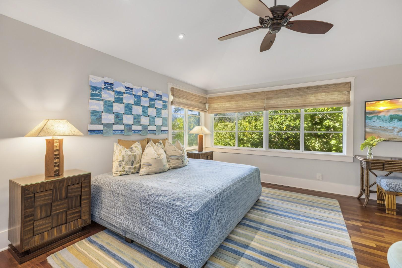 Second upstairs guest bedroom - Honu Suite