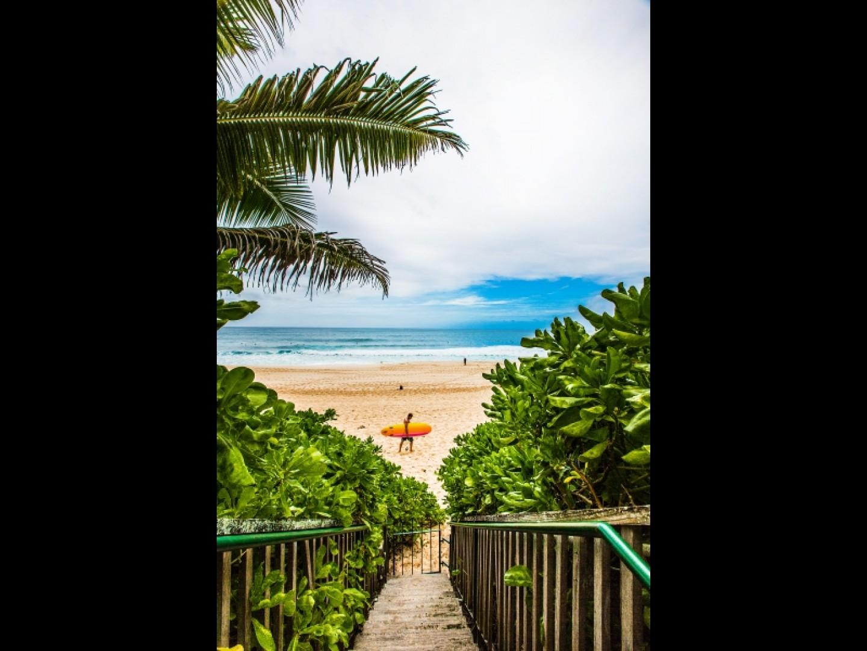 Private beach access to the world-famous Banzai Pipeline.