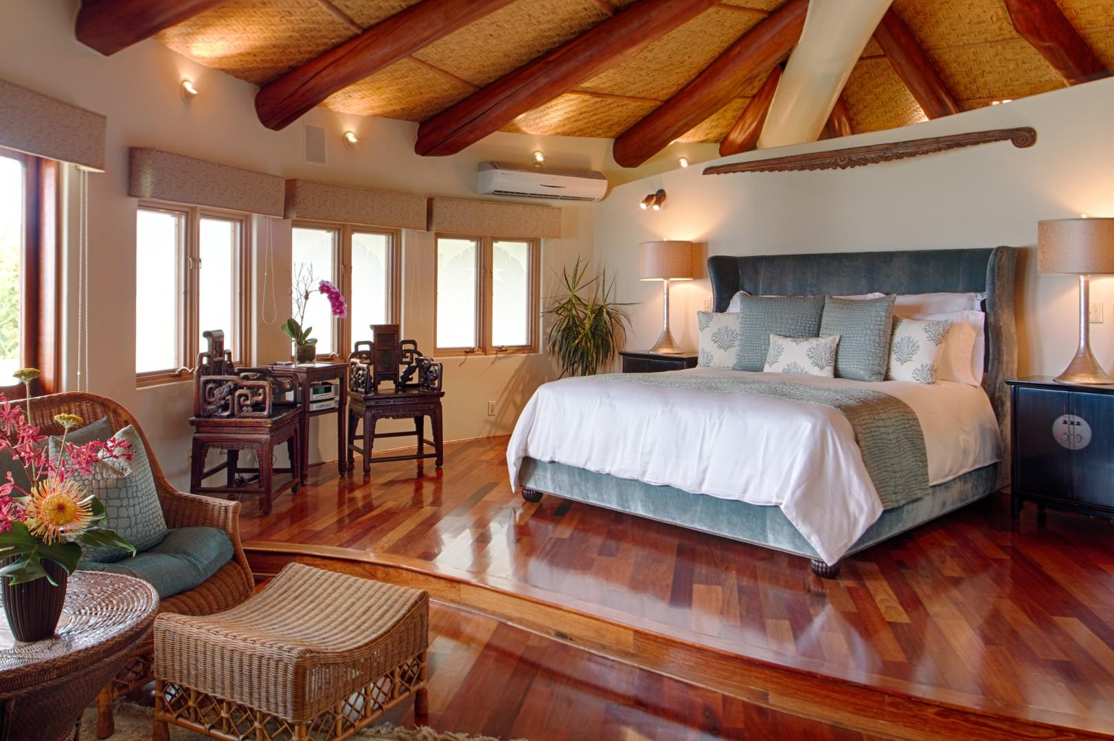 Master Bedroom in Main House