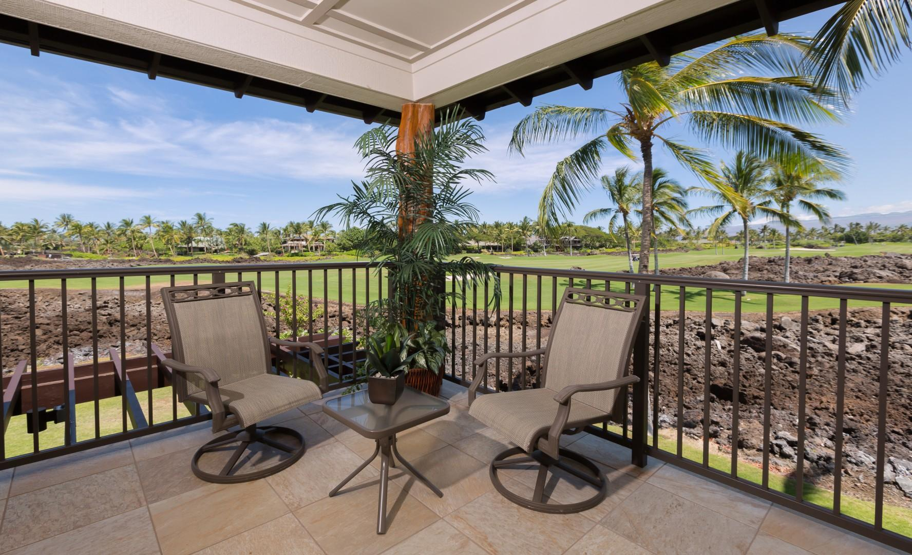 Lounge on the lanai