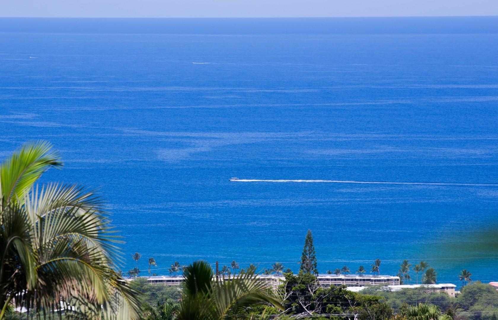 Beautiful ocean views.