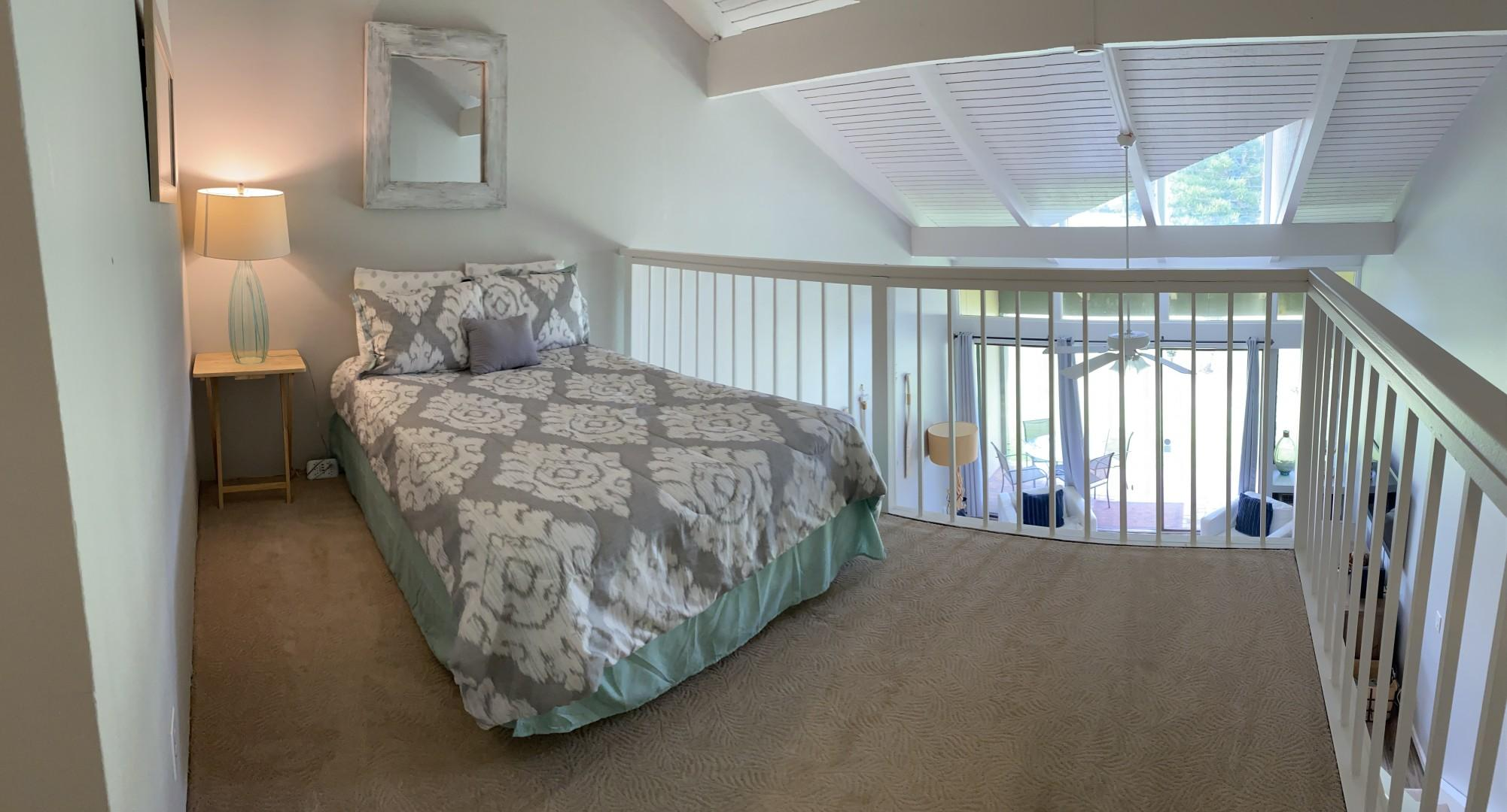 Loft with Full bed