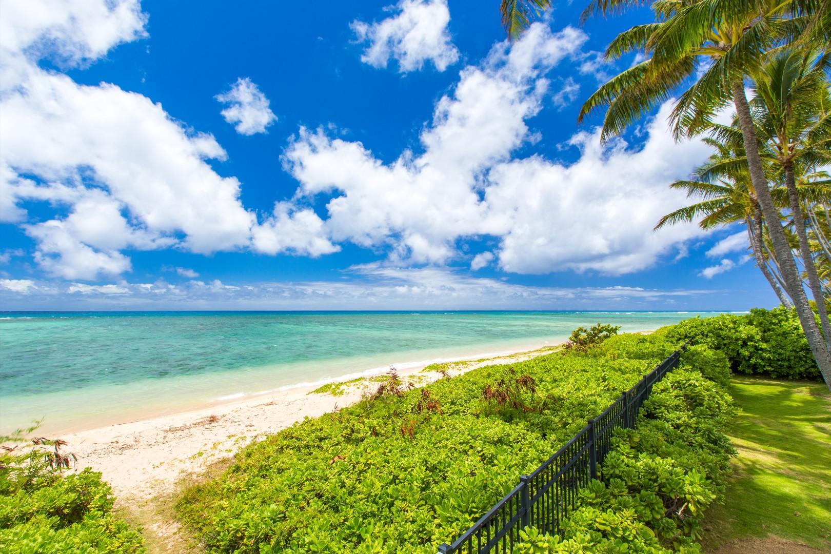 Kahala Beach view