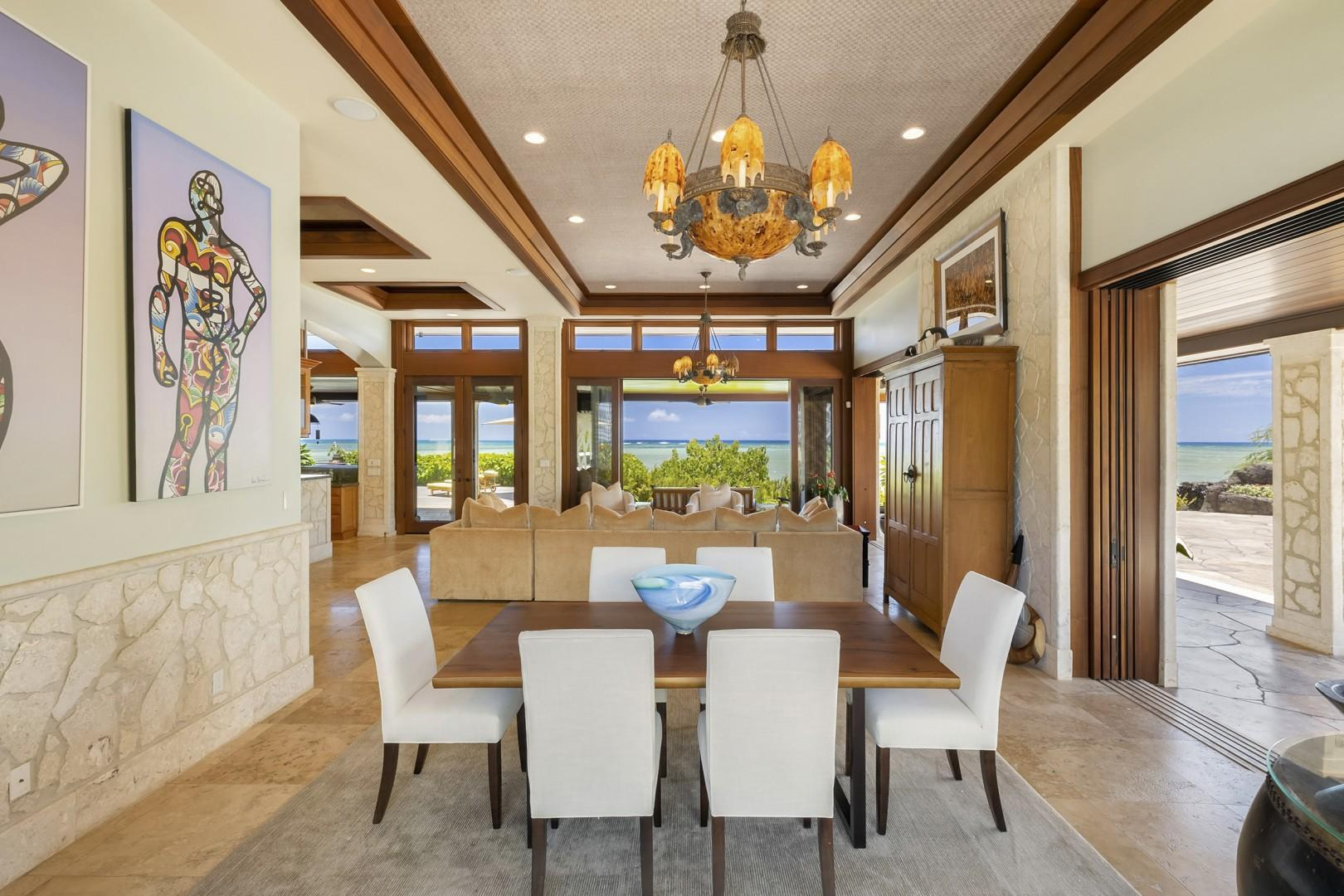 Formal Dining Room with seating for 6