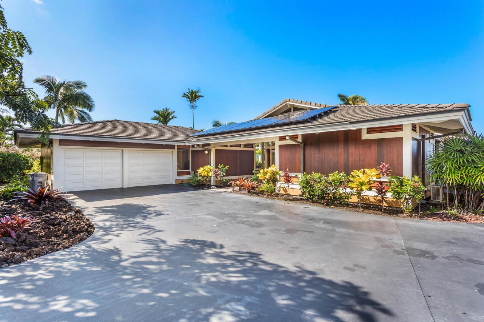 Keauhou Estates is gated and private.
