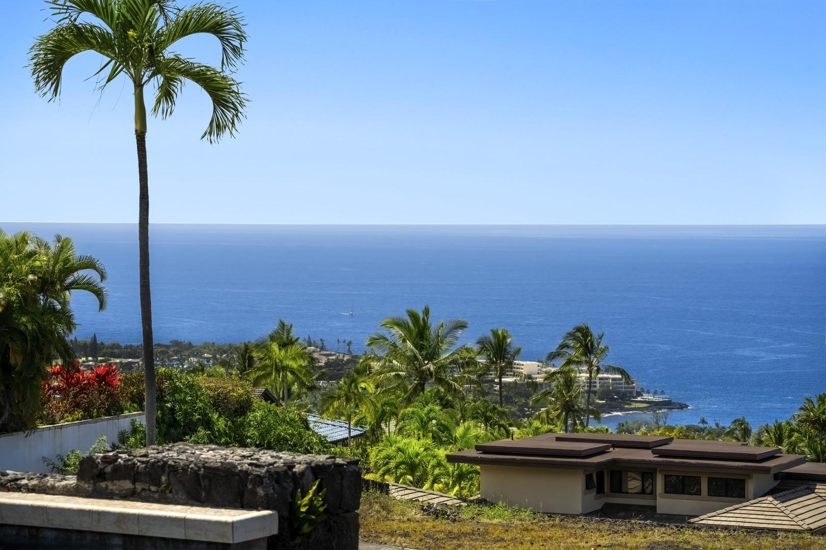 View from the Lanai off the Master bedroom