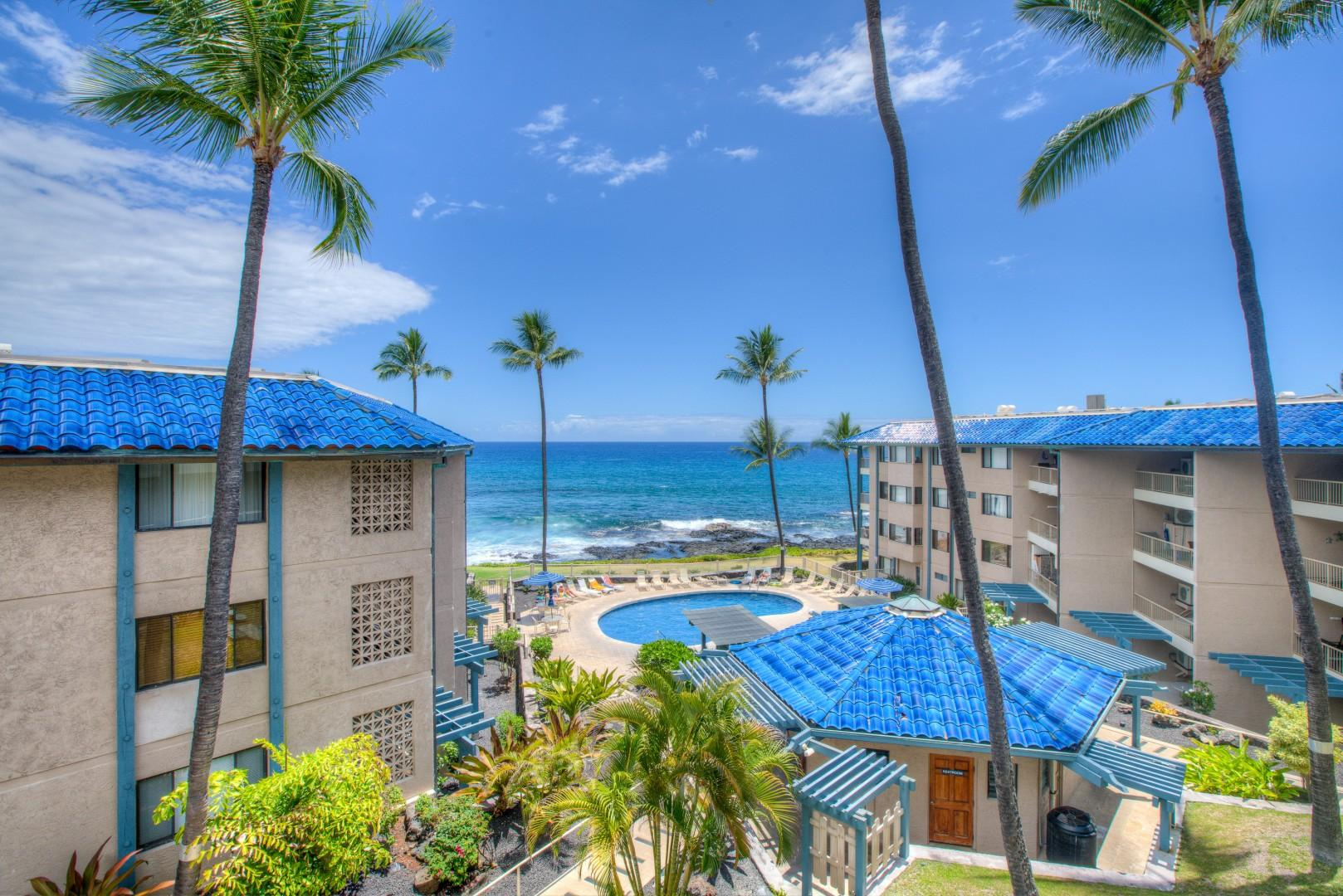 Wide view from the Lanai