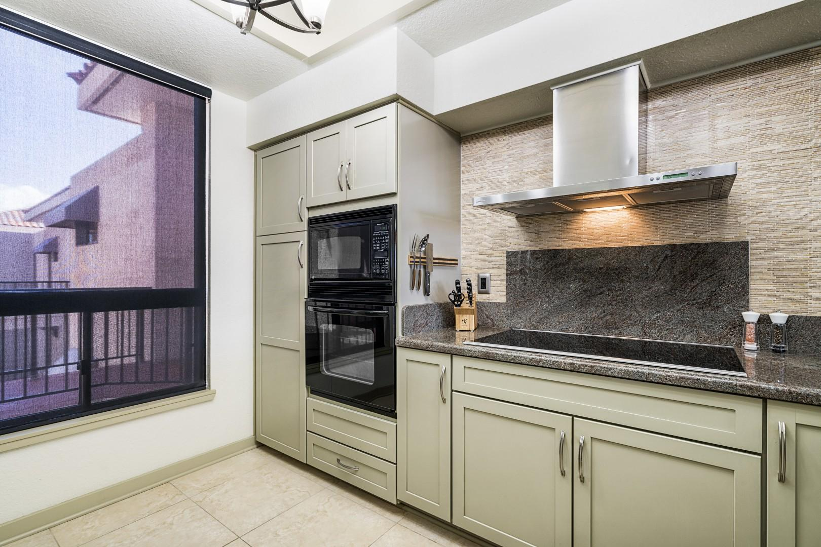 Spacious kitchen with all the essentials to cook your favorite meals!