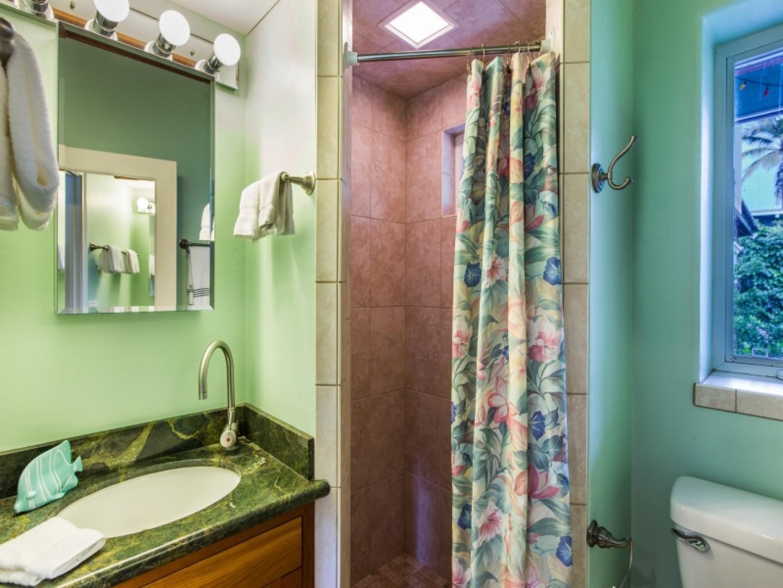 Private suite bathroom.