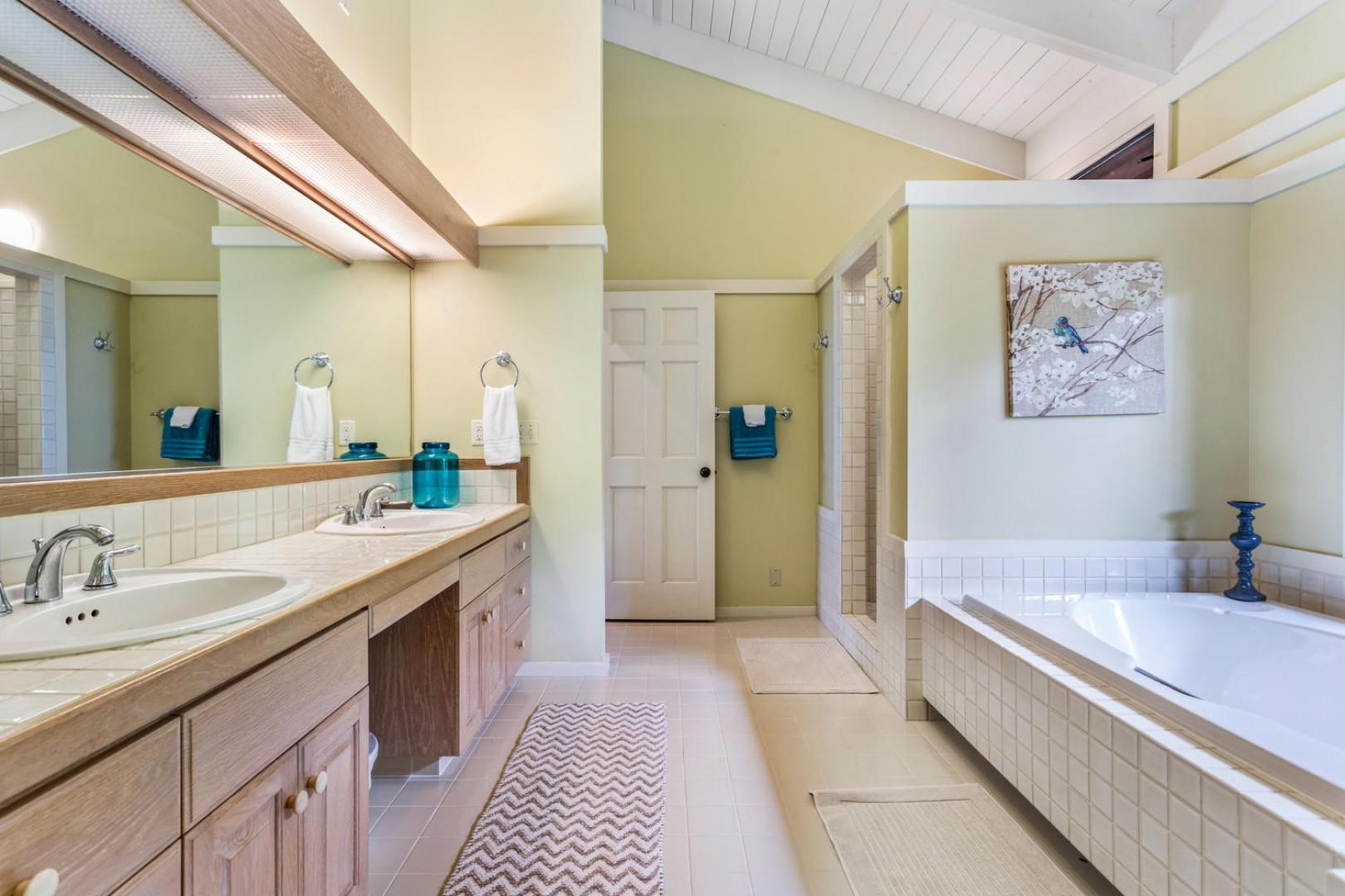 Another view of the master bath.
