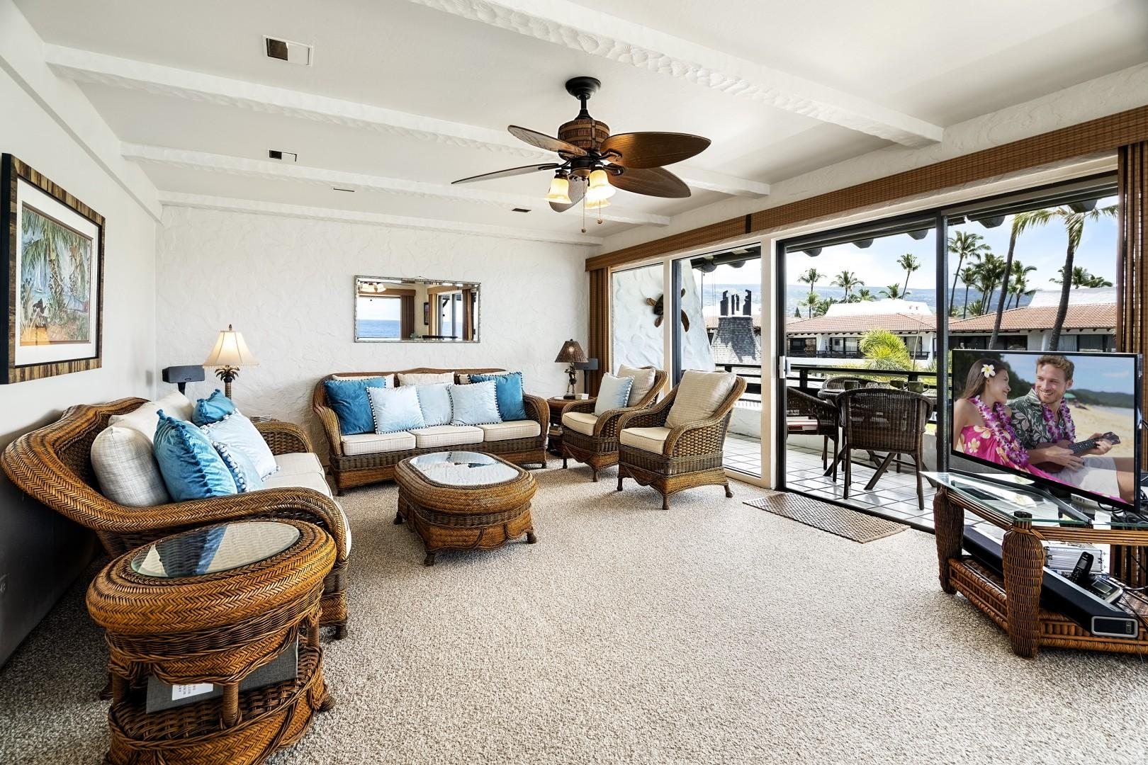 Ceiling fans and central A/C can be found here as well!