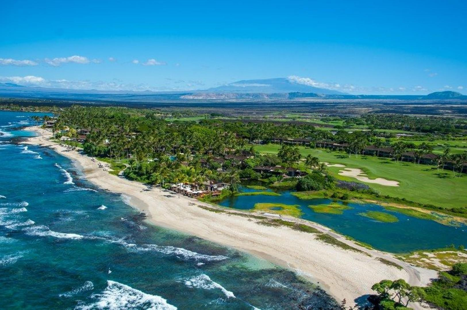 Four Seasons Resort Hualalai  on the Big Island of Hawaii