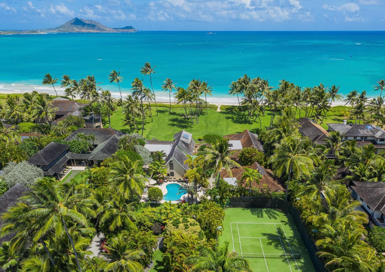 Luxury Kailua Shores Estate - Beach Front