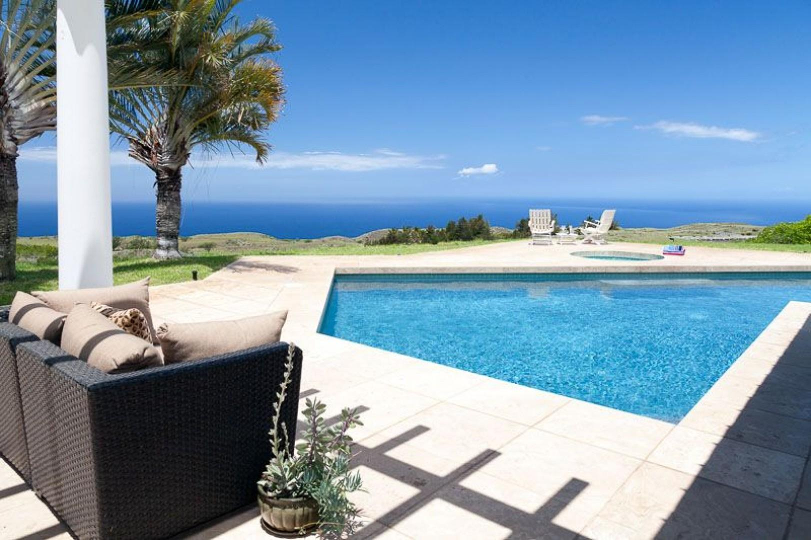 Enjoy a nap or read a book while overlooking the ocean