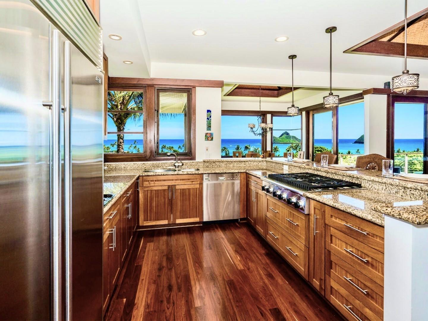 12 - Kitchen and View