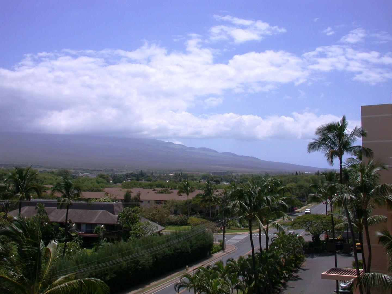 View of the Haleakala volcano.