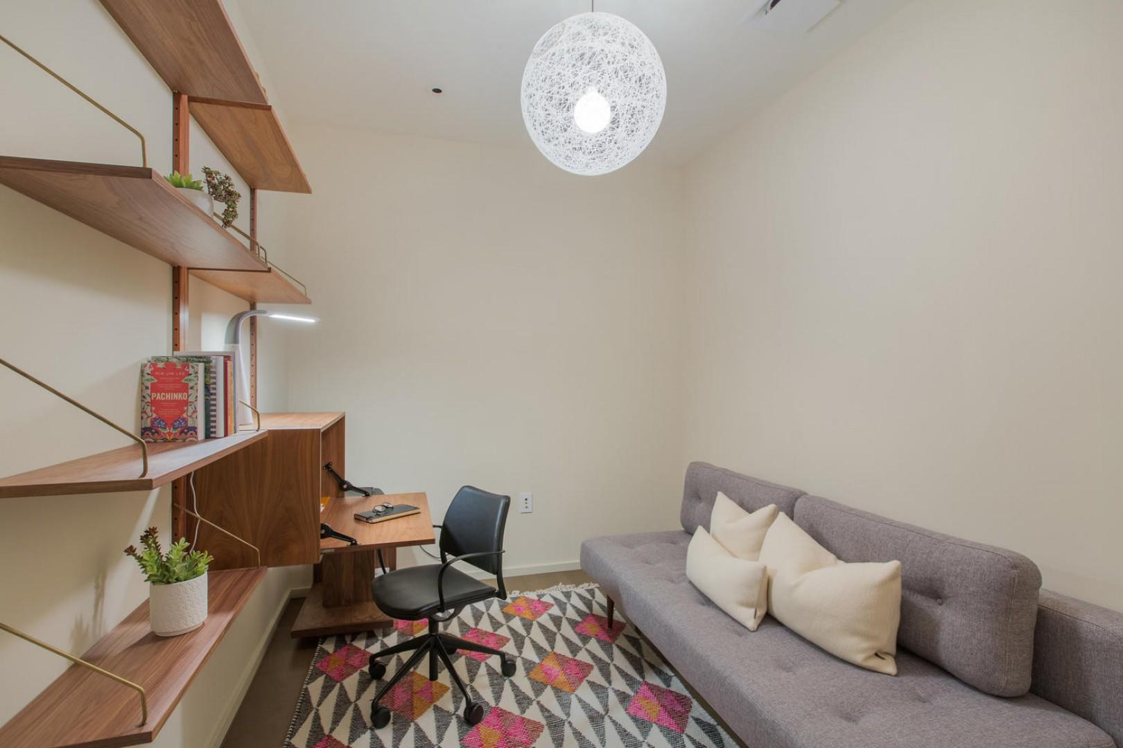 Den/Office with sleeper sofa
