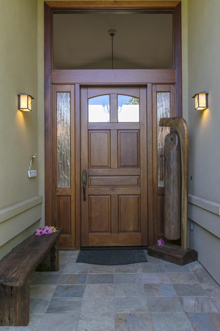 Entry Door to the luxurious home!