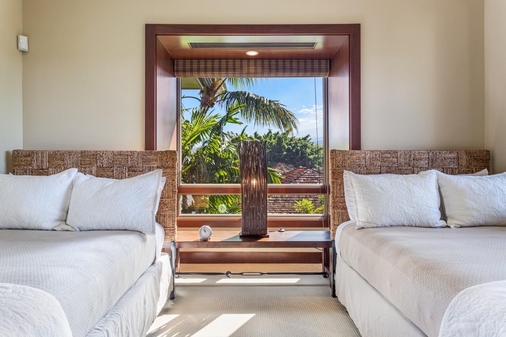 Alternative view of bedroom three.