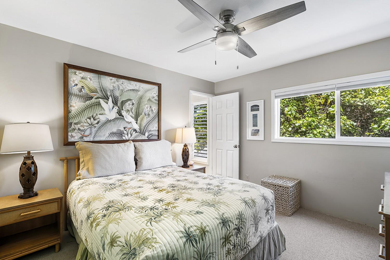 Master bedroom featuring Queen bed and ensuite