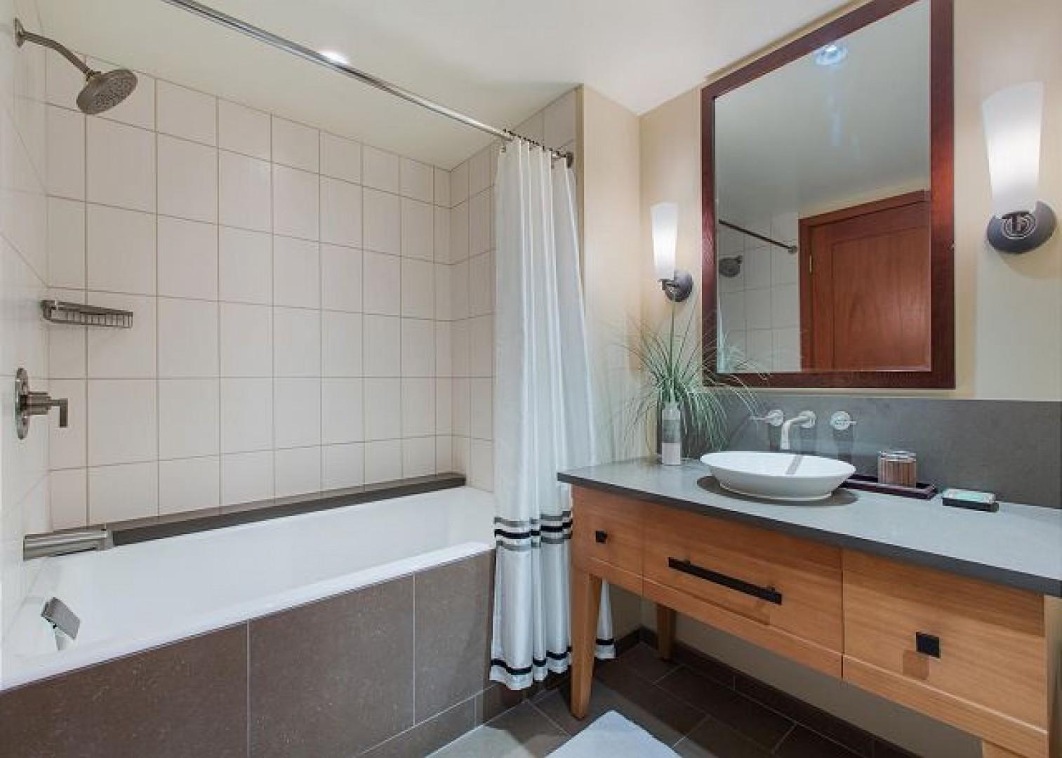 Spacious Second Bathroom
