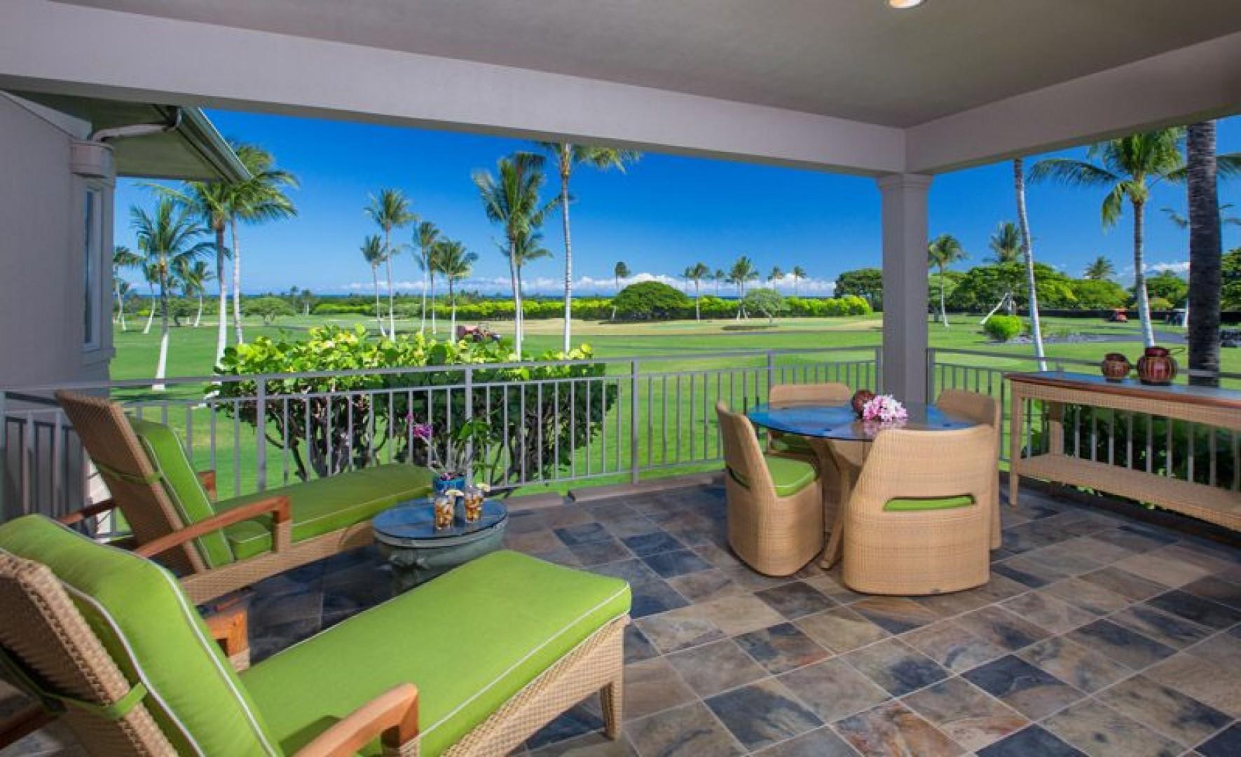 Golf & Distant Ocean Views