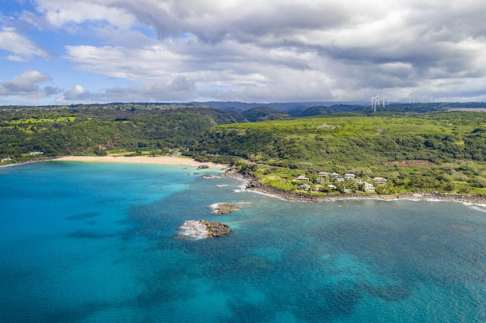 Postcard-perfect Waimea Bay.