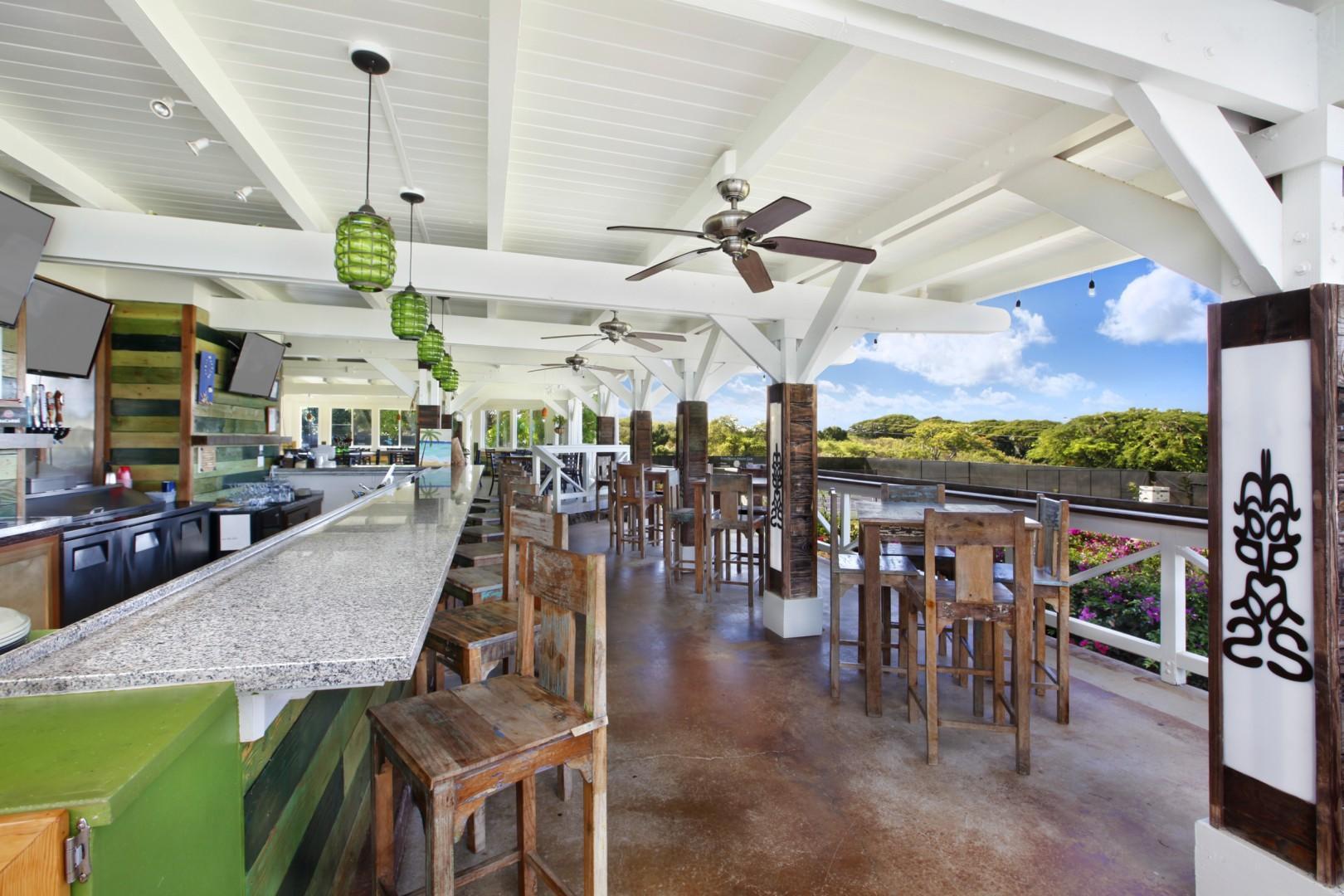 Bar & Resturant at Poipu Beach Athletic Club