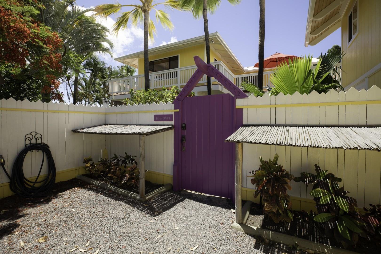 Private Gate Entry