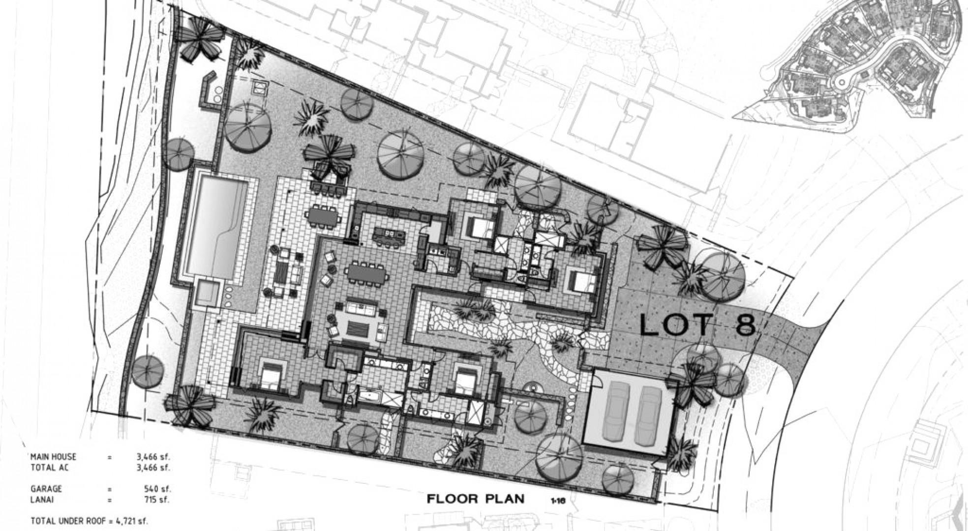 Floor plan of home