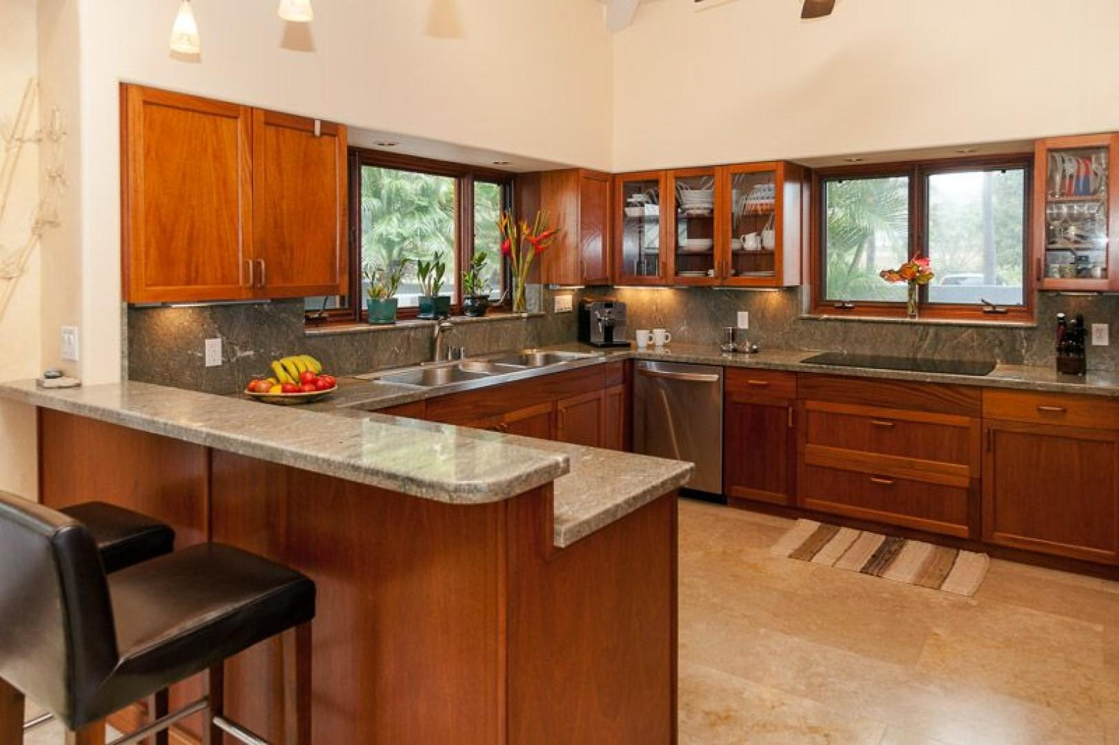 Gourmet Kitchen stocked with everything you need