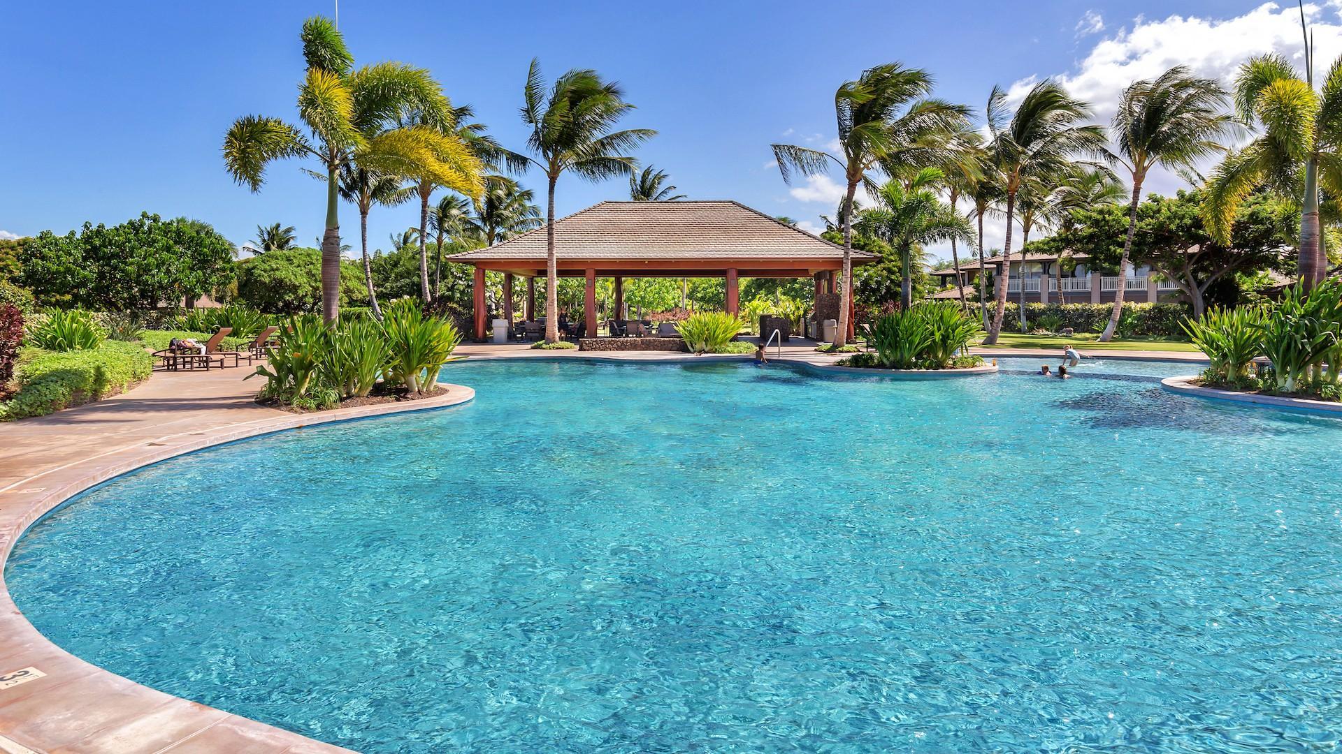 KaMilo recreation center's freestyle pool.