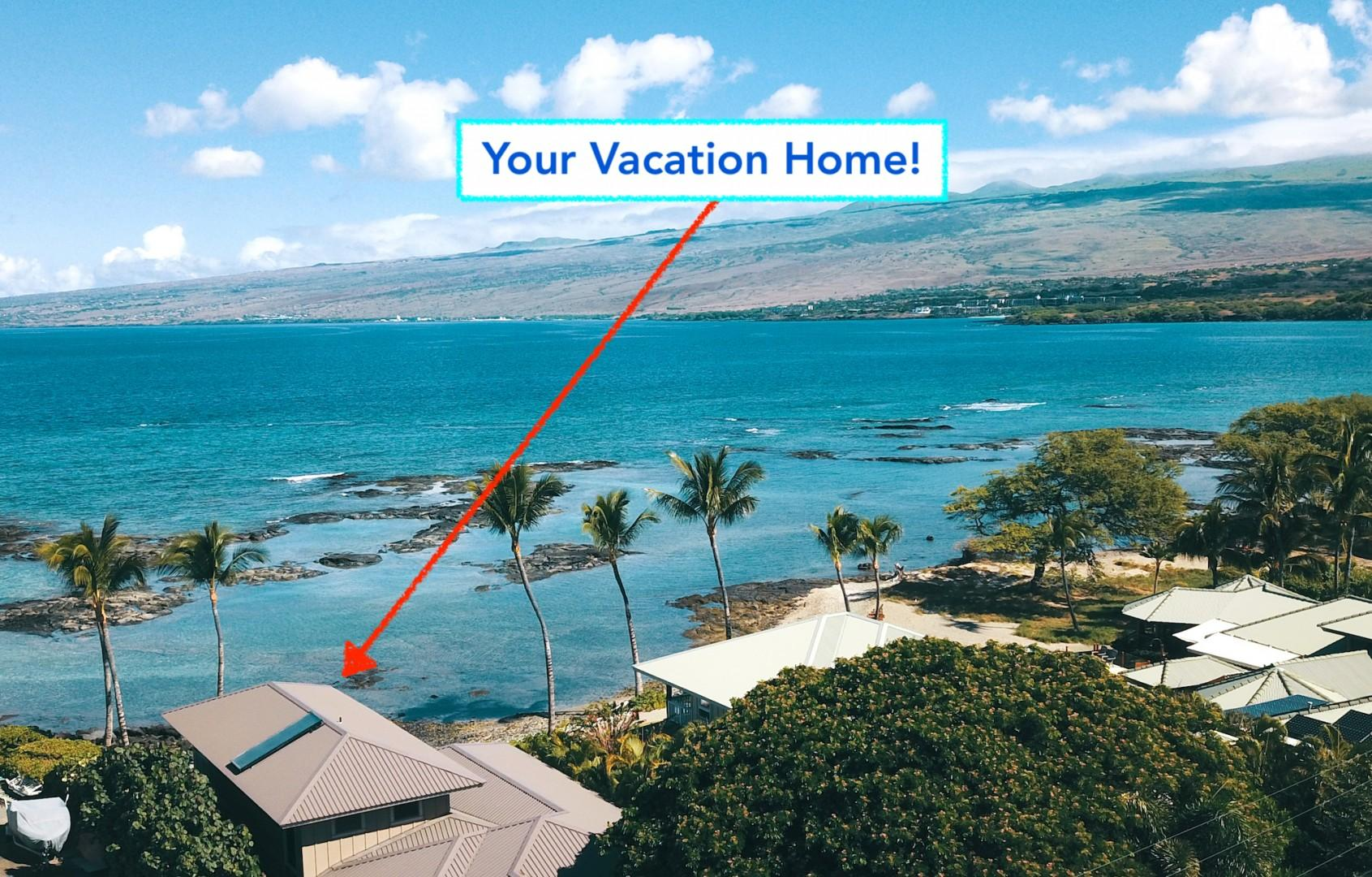 Enjoy a Prime Beachfront Location in Beautiful Puako!