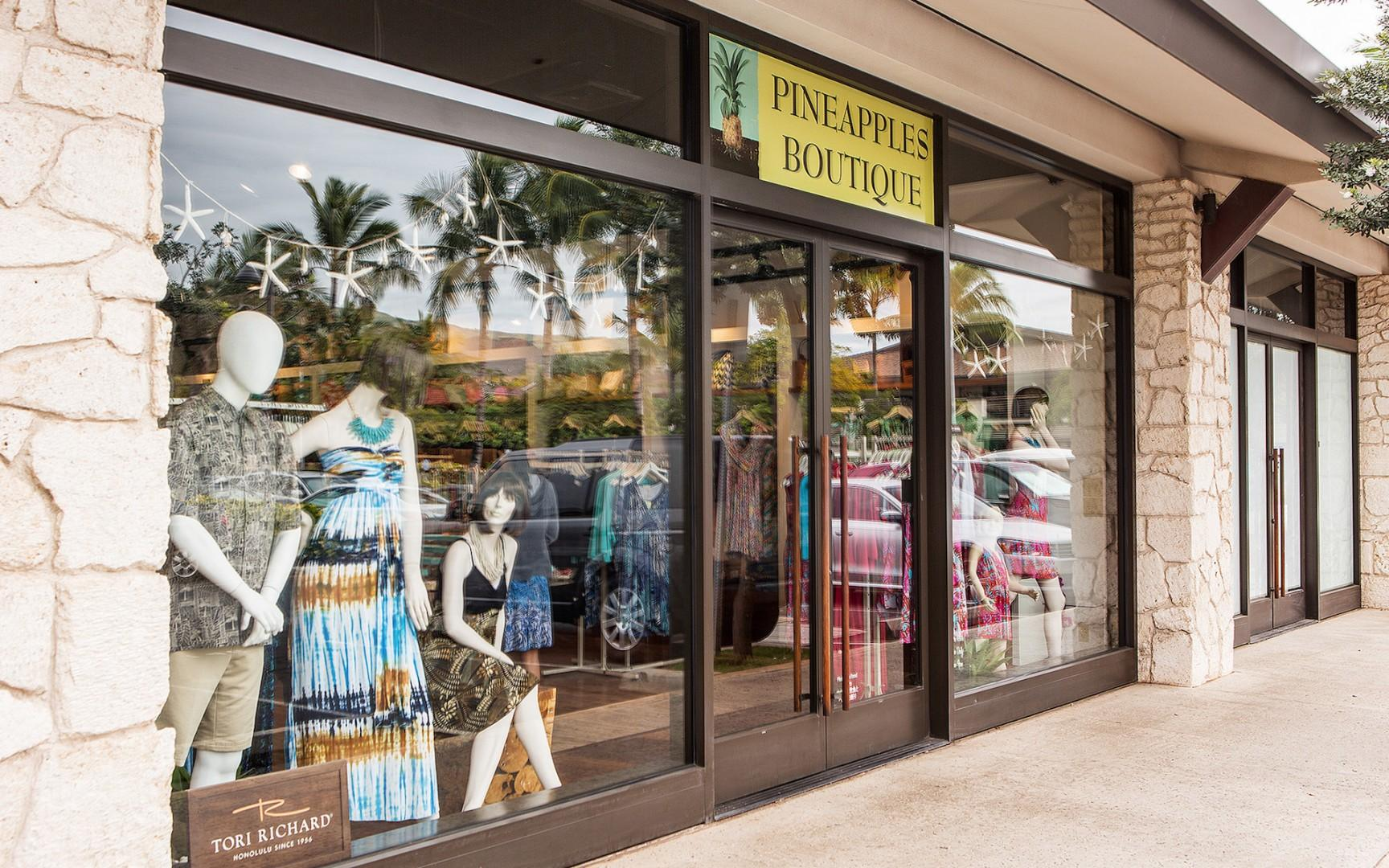 Unique shops and sweet treats just a short drive or 10 minute walk away