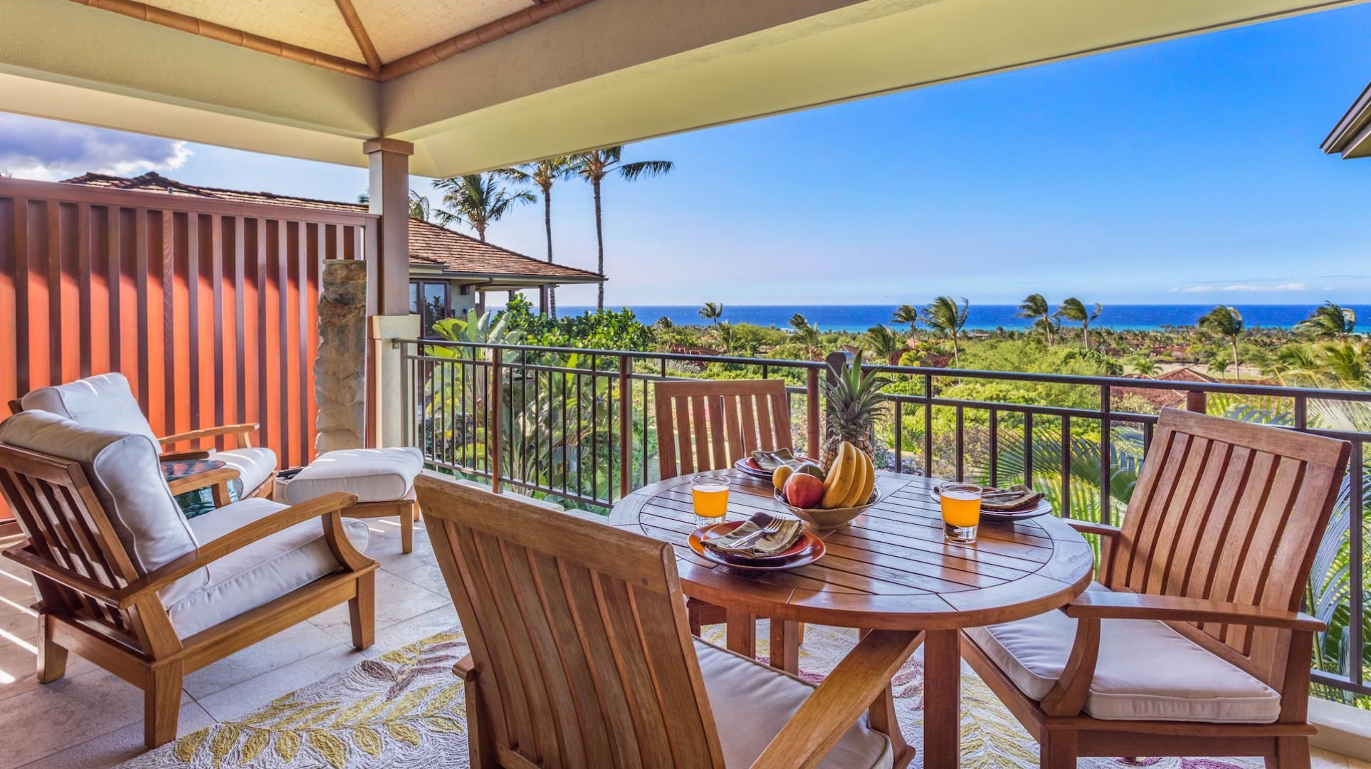 Reverse View of Lanai w/Privacy Wall.