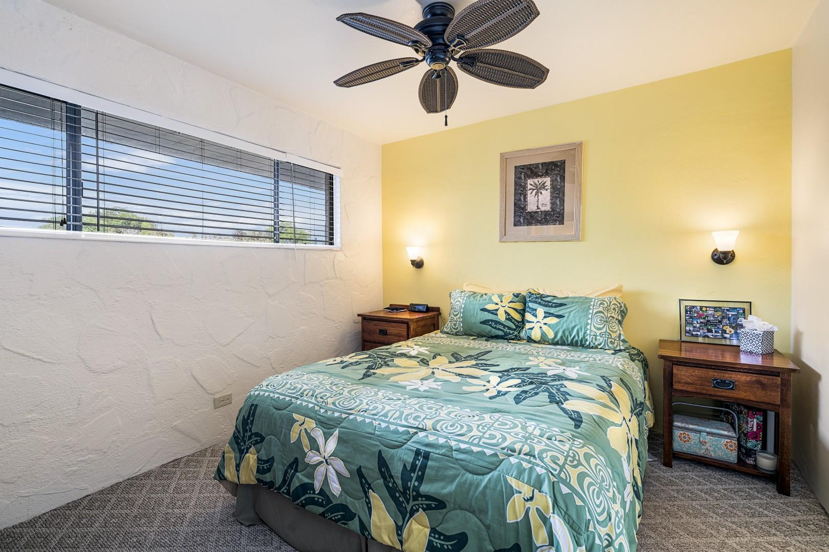 Nicely appointed air conditioned bedroom featuring Queen bed!