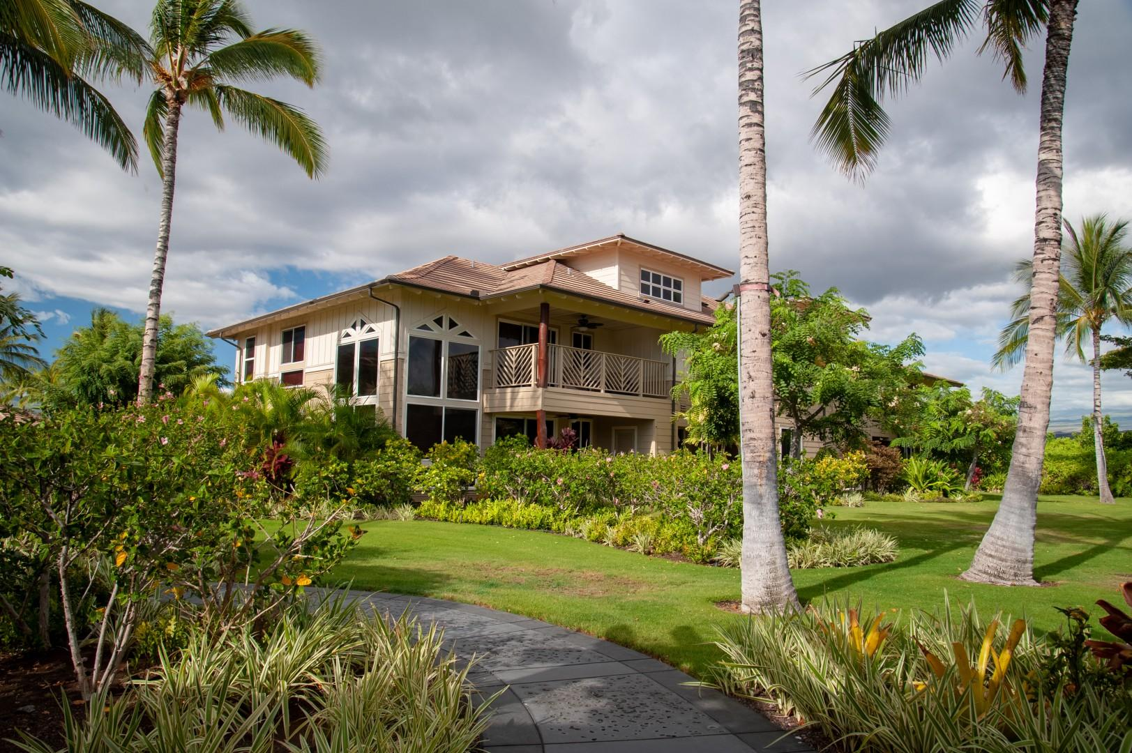 The Villa Boasts a Desirable Corner Unit Location