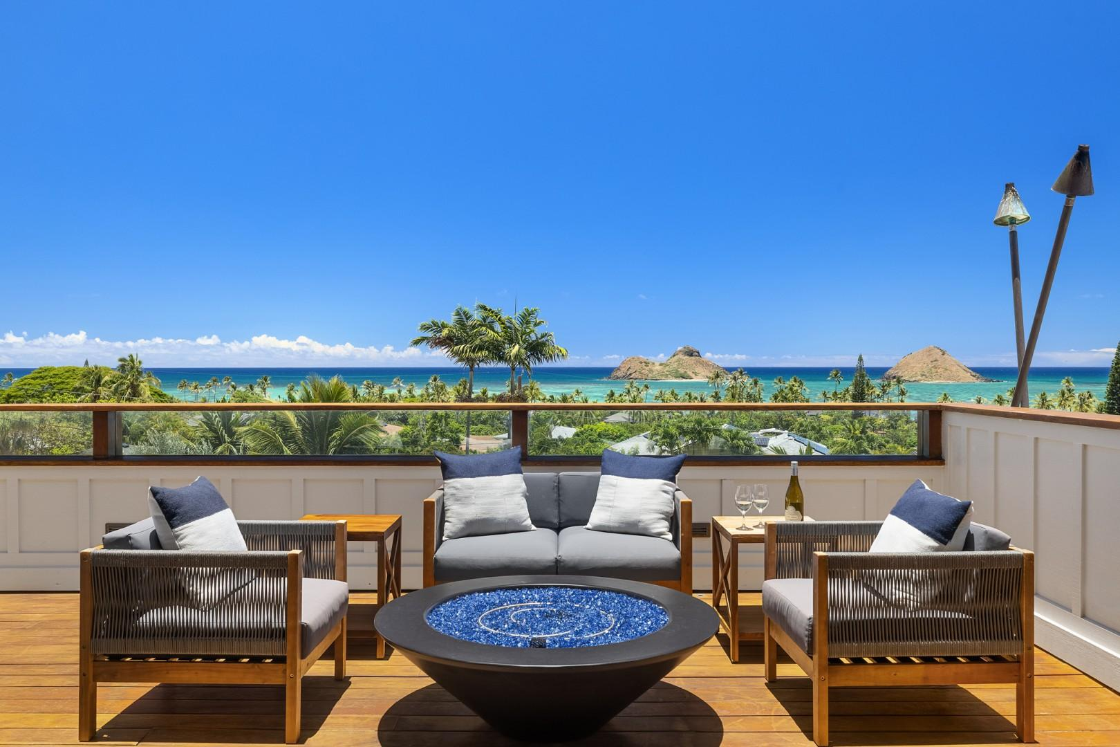 Master Bedroom lanai ocean view