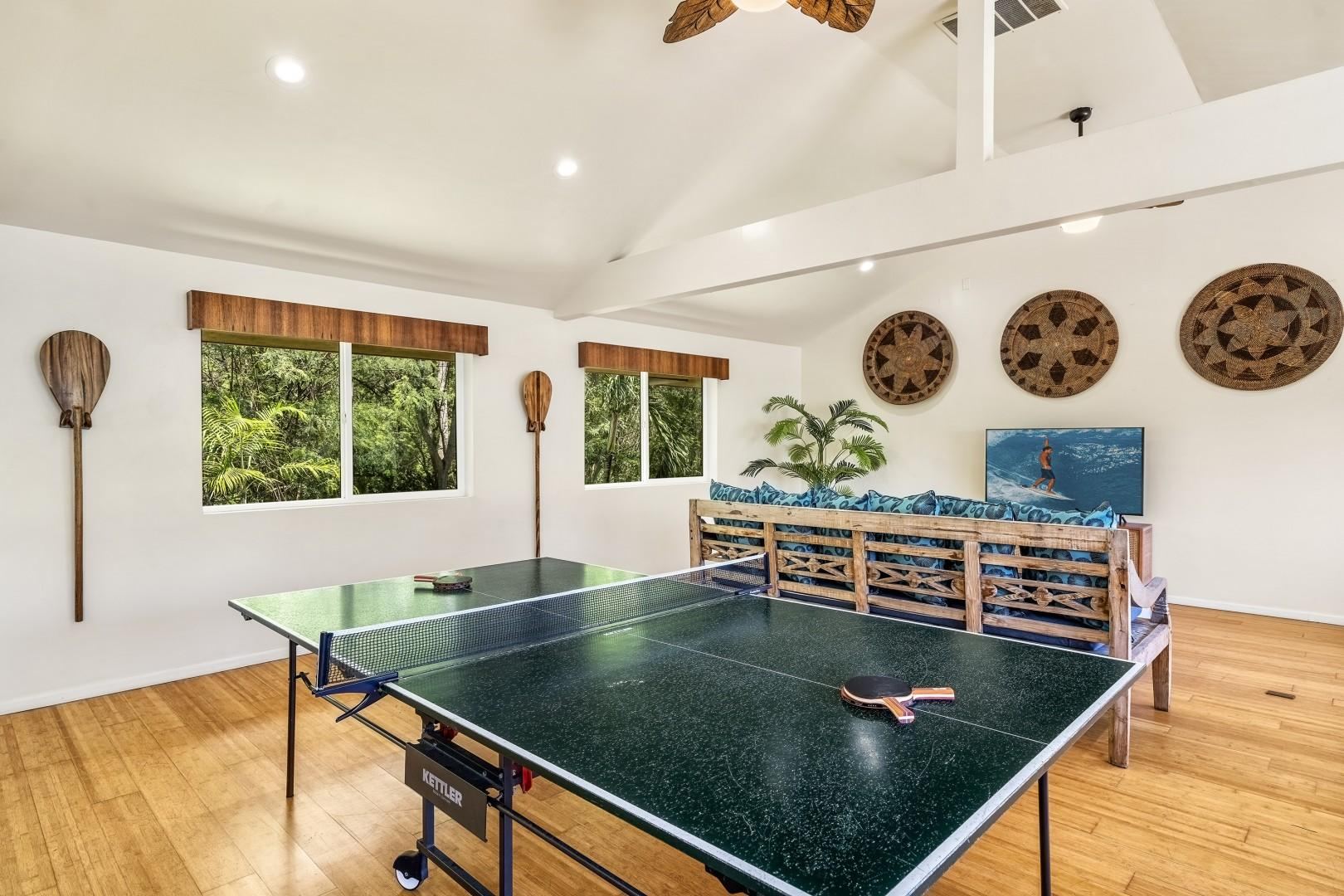 Play a game of ping pong!