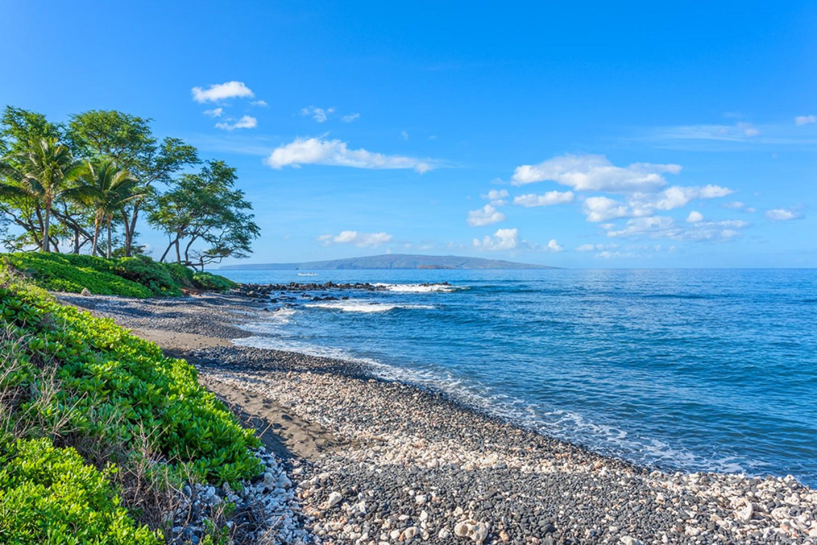 On calm days, it's perfectly fine to enter the water right from the property to enjoy paddle boarding, snorkeling, scuba diving, kayaking and other ocean sports
