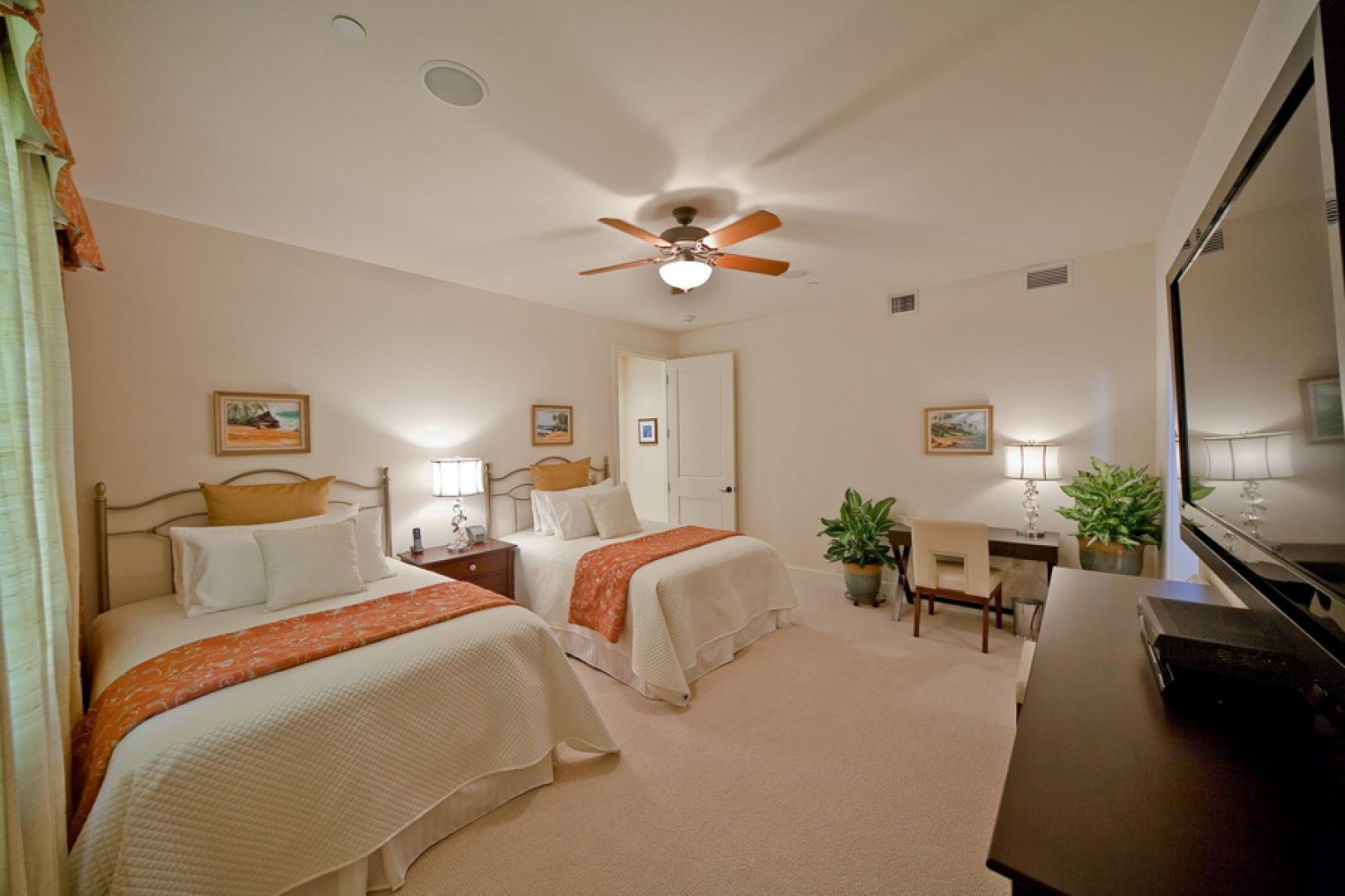 Second Master Bedroom with Two Full/Double Beds