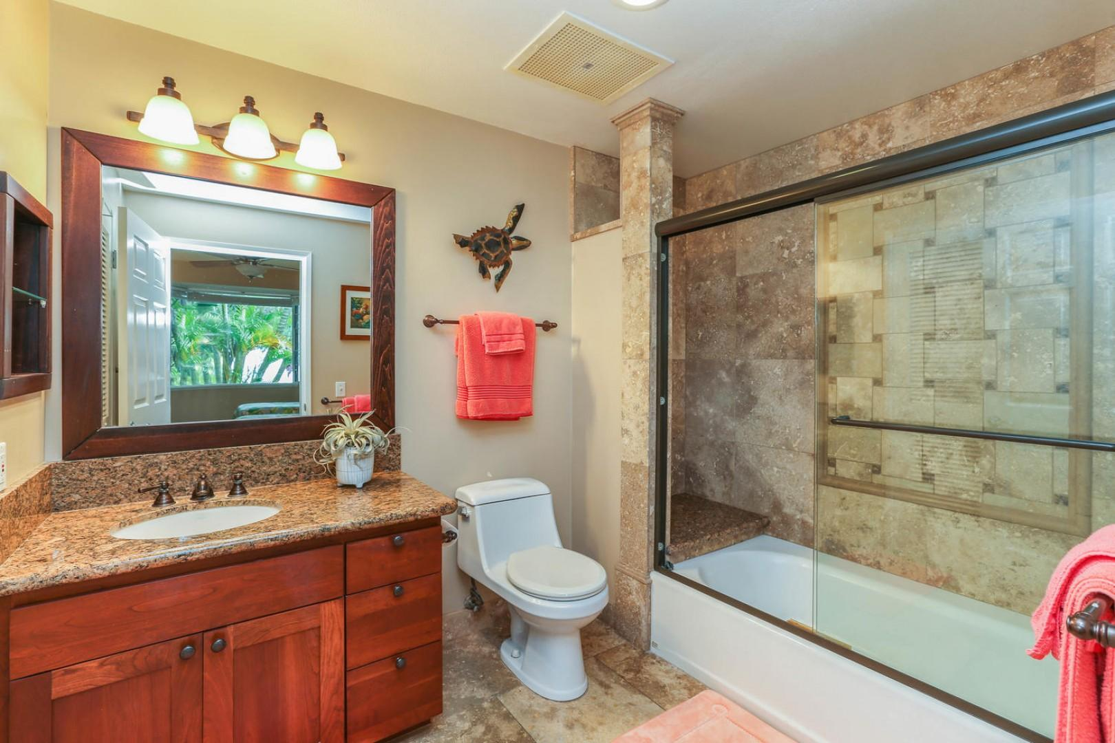 Guest Bathroom with Bath Tub