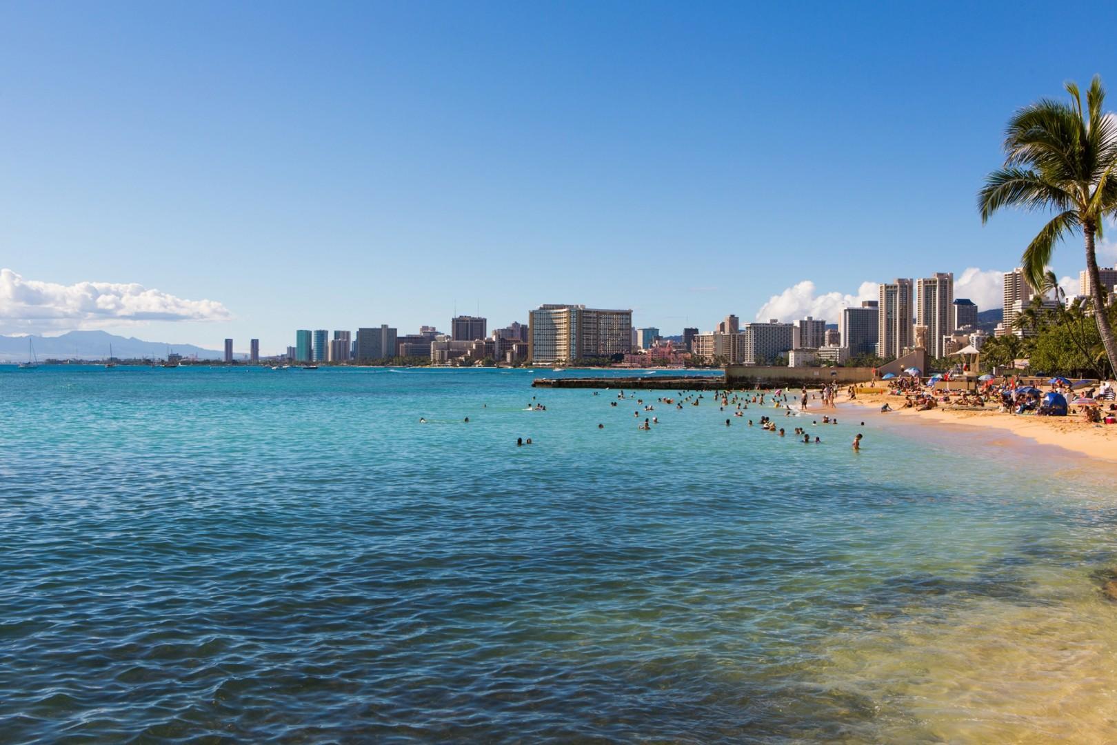 Steps to the famous Waikiki Beach!