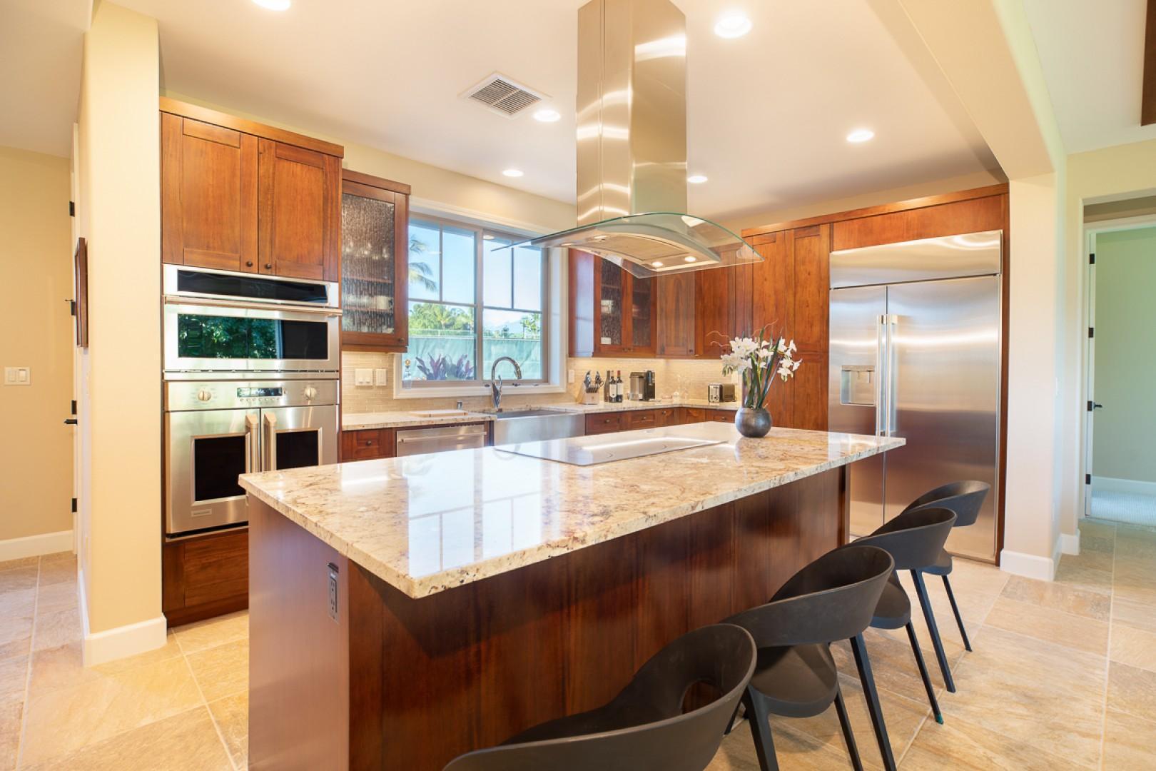 High end appliances new kitchen