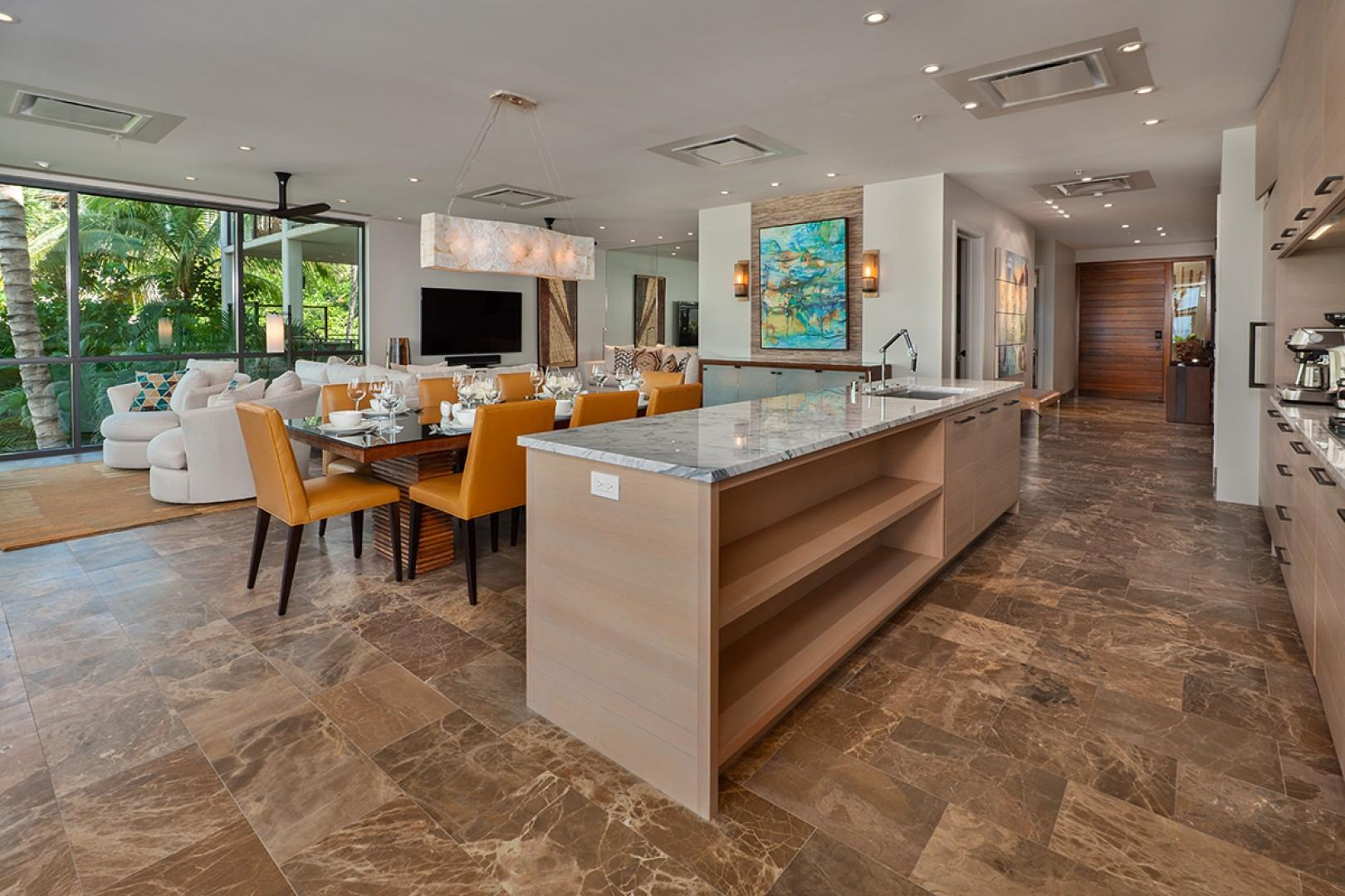 Create Maui Inspired Culinary Masterpieces in the Meile Equipped Gourmet Kitchen