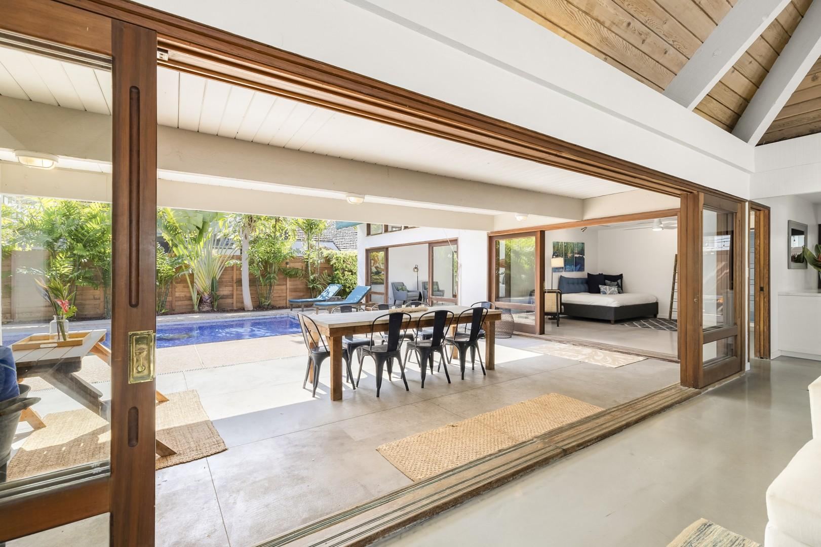 Indoor outdoor living!