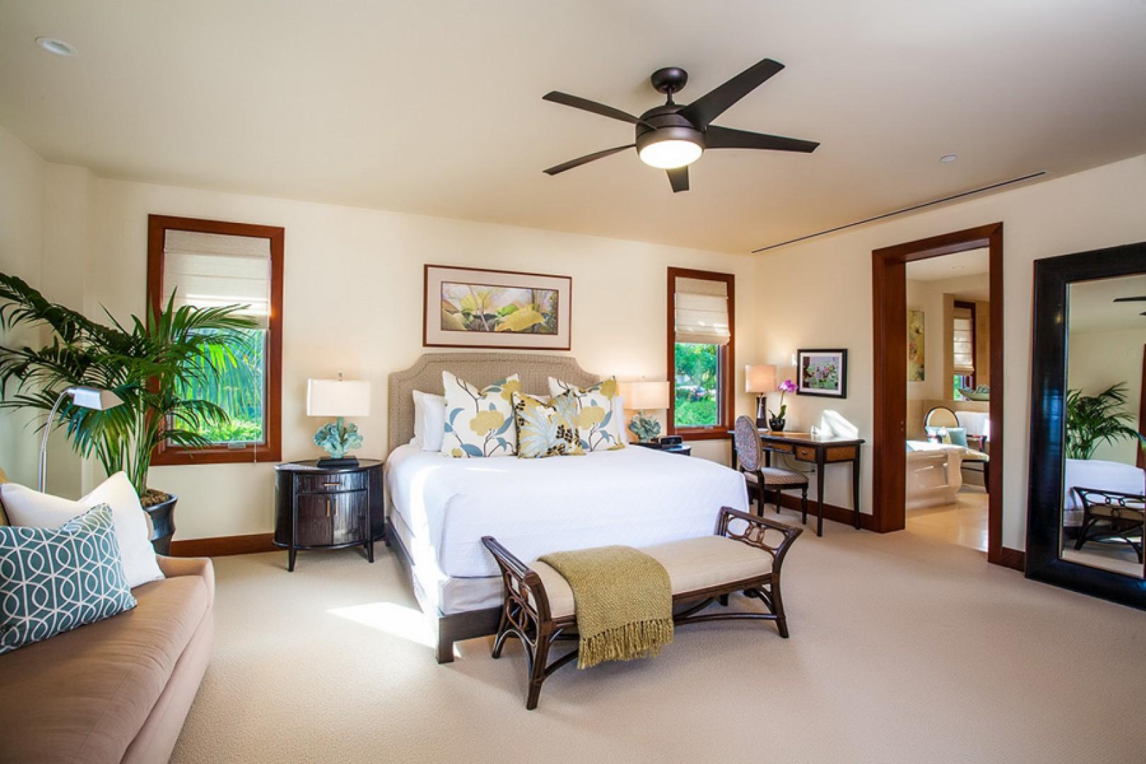 Sun Splash C301 - Ocean View Master Bedroom with King Bed and Private Bath