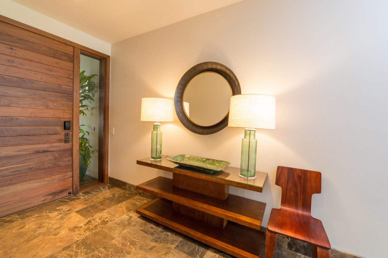SeaGlass Villa 810 at Andaz Maui Wailea Resort - Private Entrance and Foyer Welcomes You to SeaGlass 810