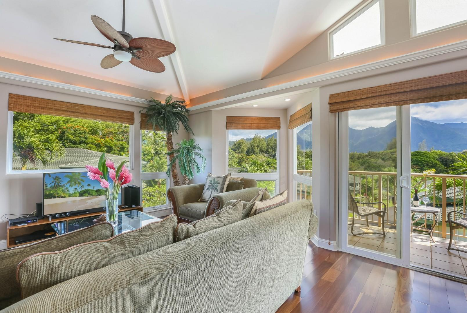 Mountain Views from Living Room